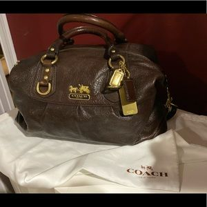 Gorgeous brown Coach Large Madison tote